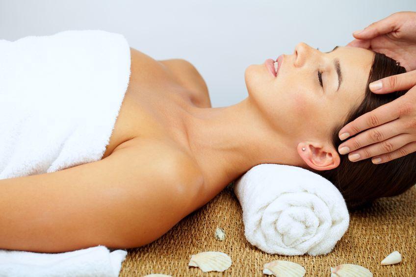 Relaksujący masaż muszlami