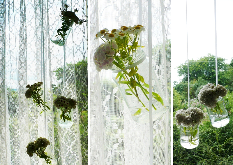 Design z recyclingu - Dekoracje ze słoików