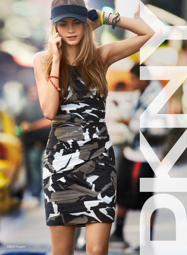 Wiosenna kampania DKNY