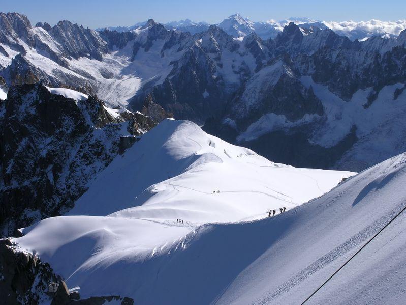Włoskie lodowce pod płótnem