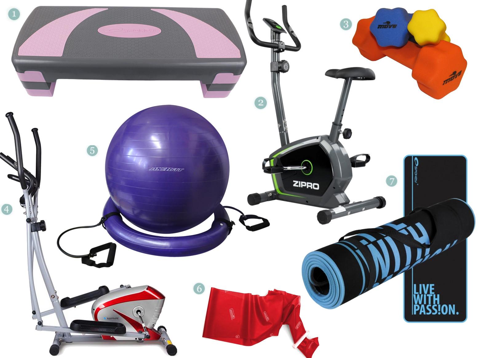 Studio fitness w domu
