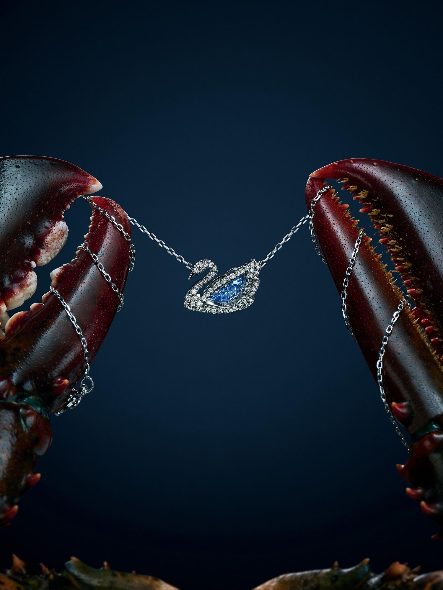 Kryształy Swarovskiego w niesamowitych ujęciach finalistów Projektu Packshot by Answear