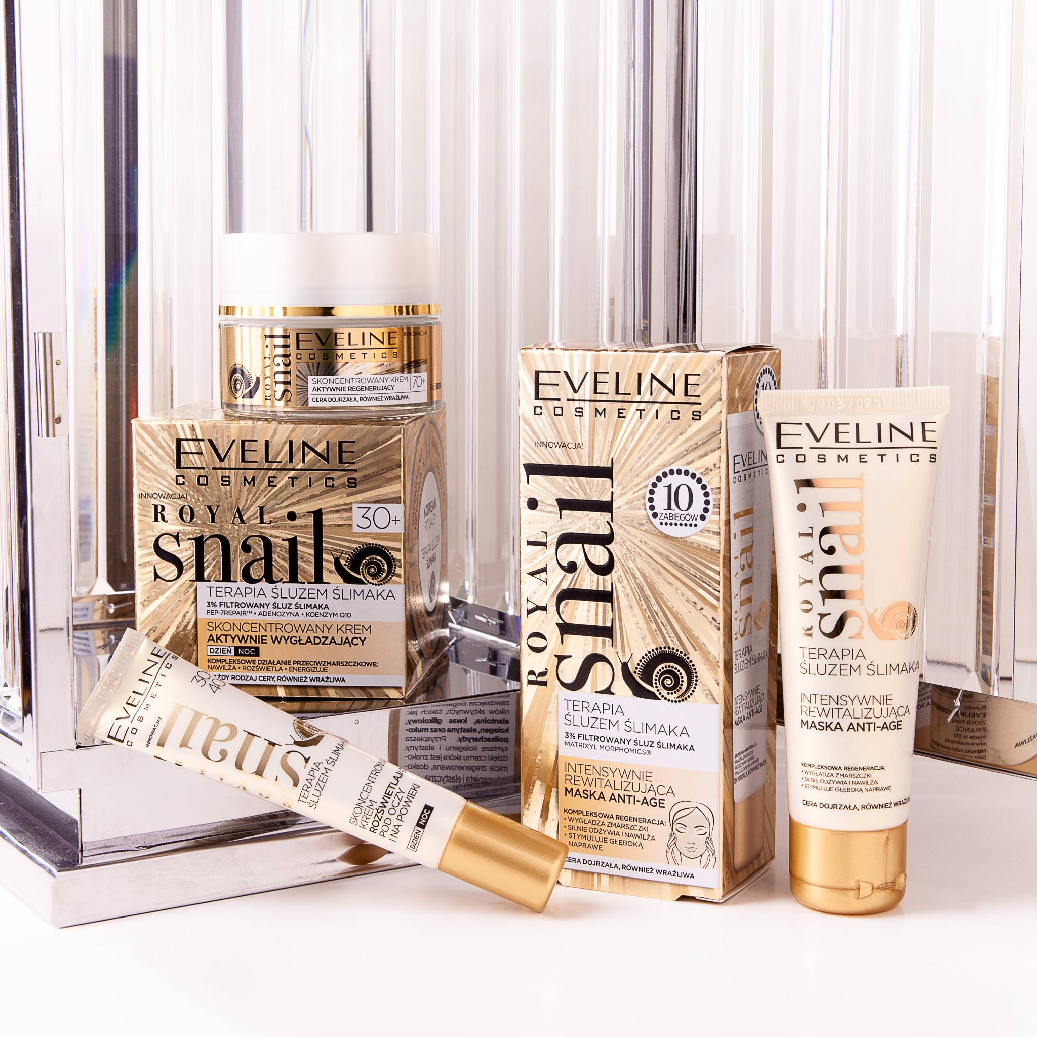 Ten ślimak ma moc! - nowa linia kosmetyków odmładzających Eveline Cosmetics: Royal Snail