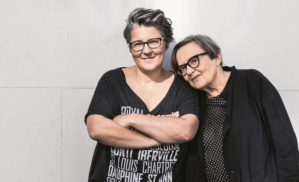Agnieszka Holland i Kasia Adamik: Blisko, ale oddzielnie