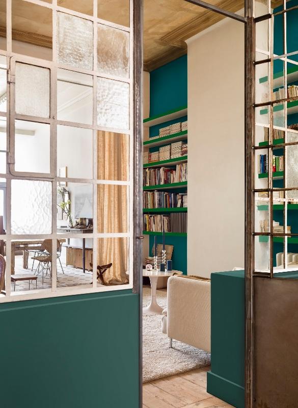 Marrs Green, czyli szykowny turkus w mieszkaniu