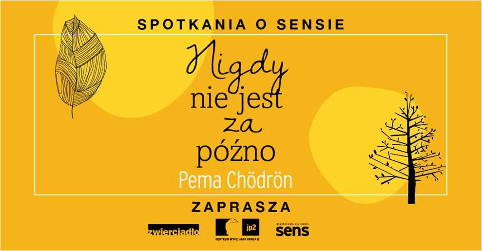Wydawnictwo Zwierciadło ma zaszczyt zaprosić na ostatnie z cyklu SPOTKANIE O SENSIE!