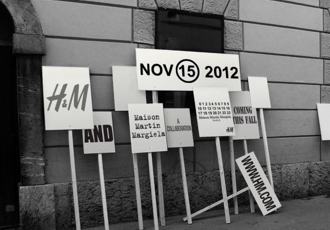 MAISON MARTIN MARGIELA + H&M