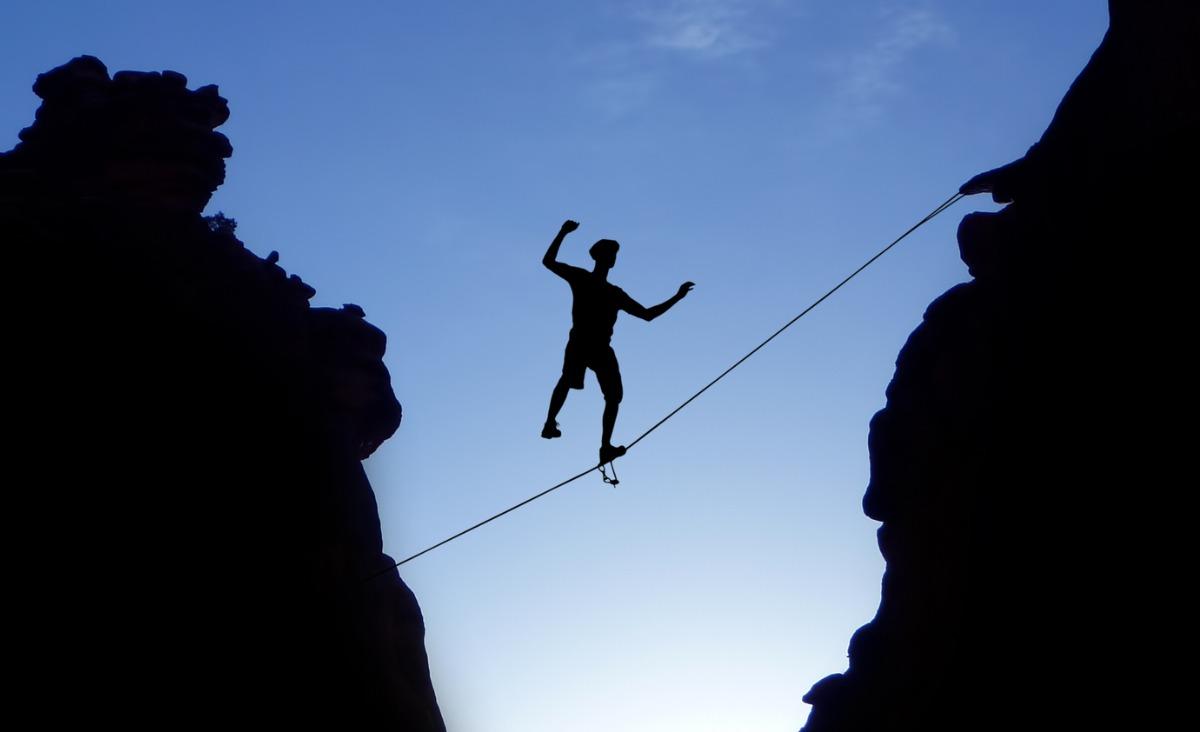 Trening odwagi w czterech krokach