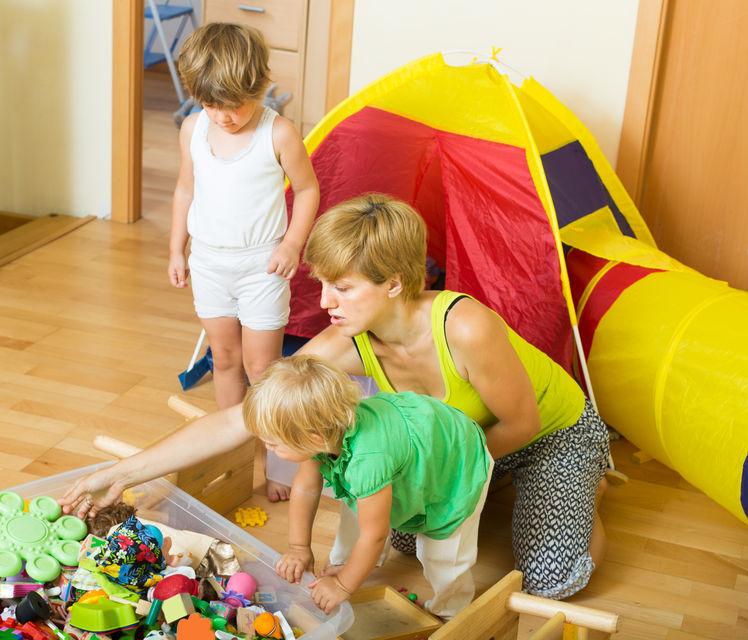 Jak uczyć dziecko porządku?