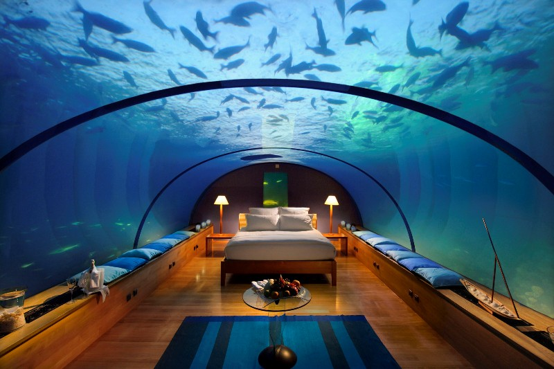 Podwodne hotele: dla tych, którzy nie boją się głębokości