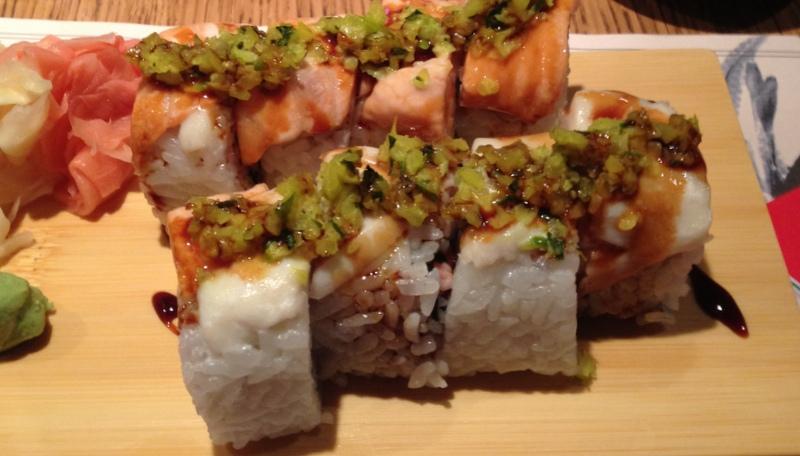 Dymińska w Sushi 77