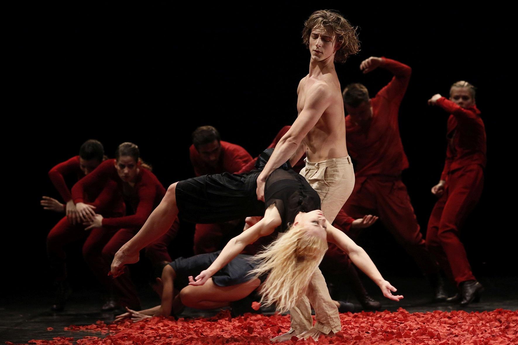 Bałtycki Teatr Tańca, Fedra, fot. Krzyszof Mystkowski