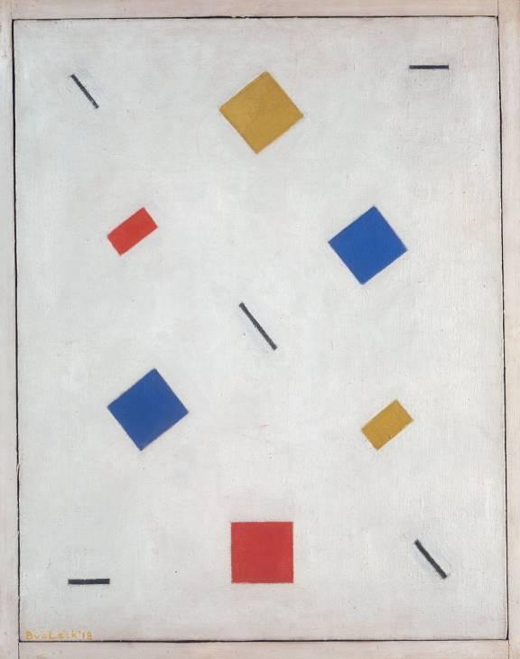 Composition 1918 by Bart van der Leck 1876-1958