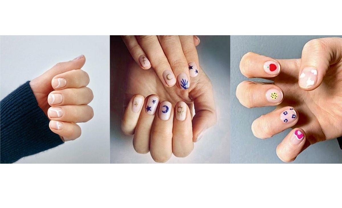 Letni nail art - modny manicure