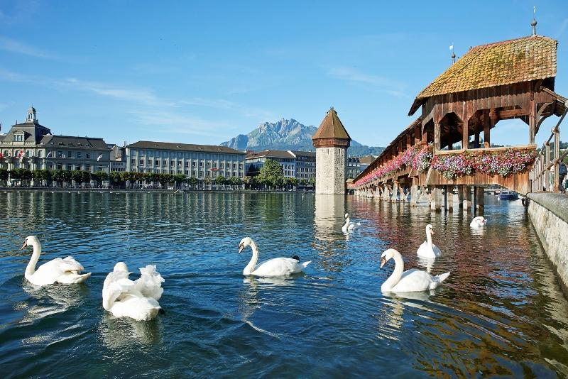 Luzern, Kapellbruecke