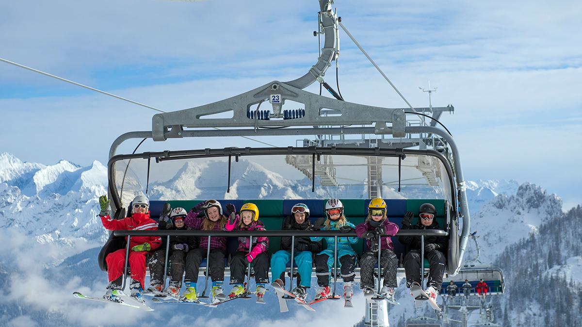 Najlepsze miejsca na narty z dziećmi