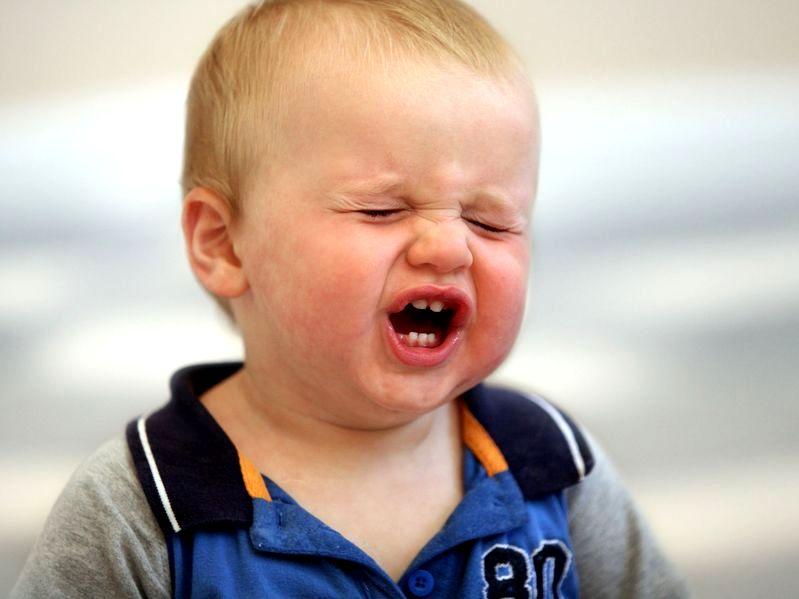 Czy twoje dziecko miewa napady histerii?