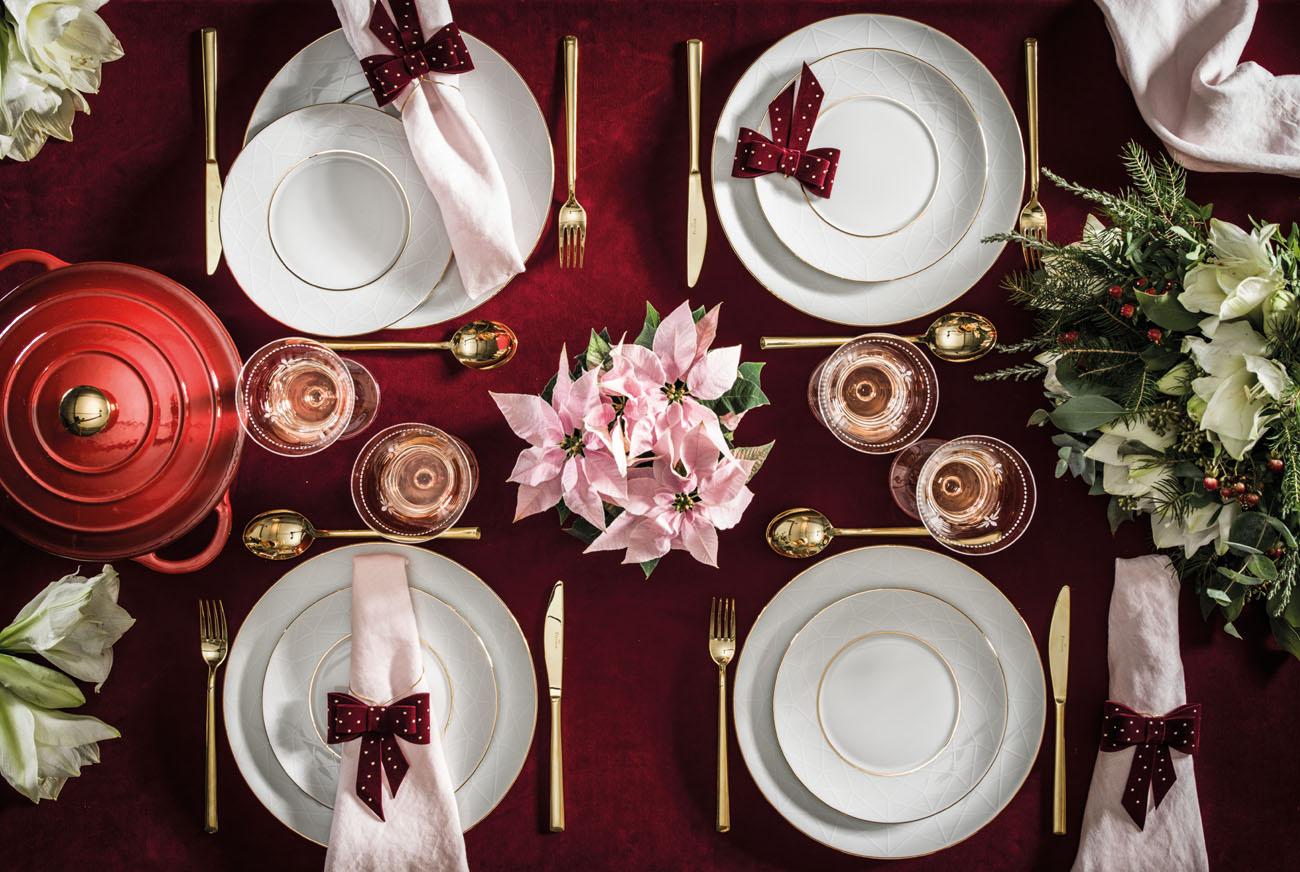 Sztuka dekorowania stołu