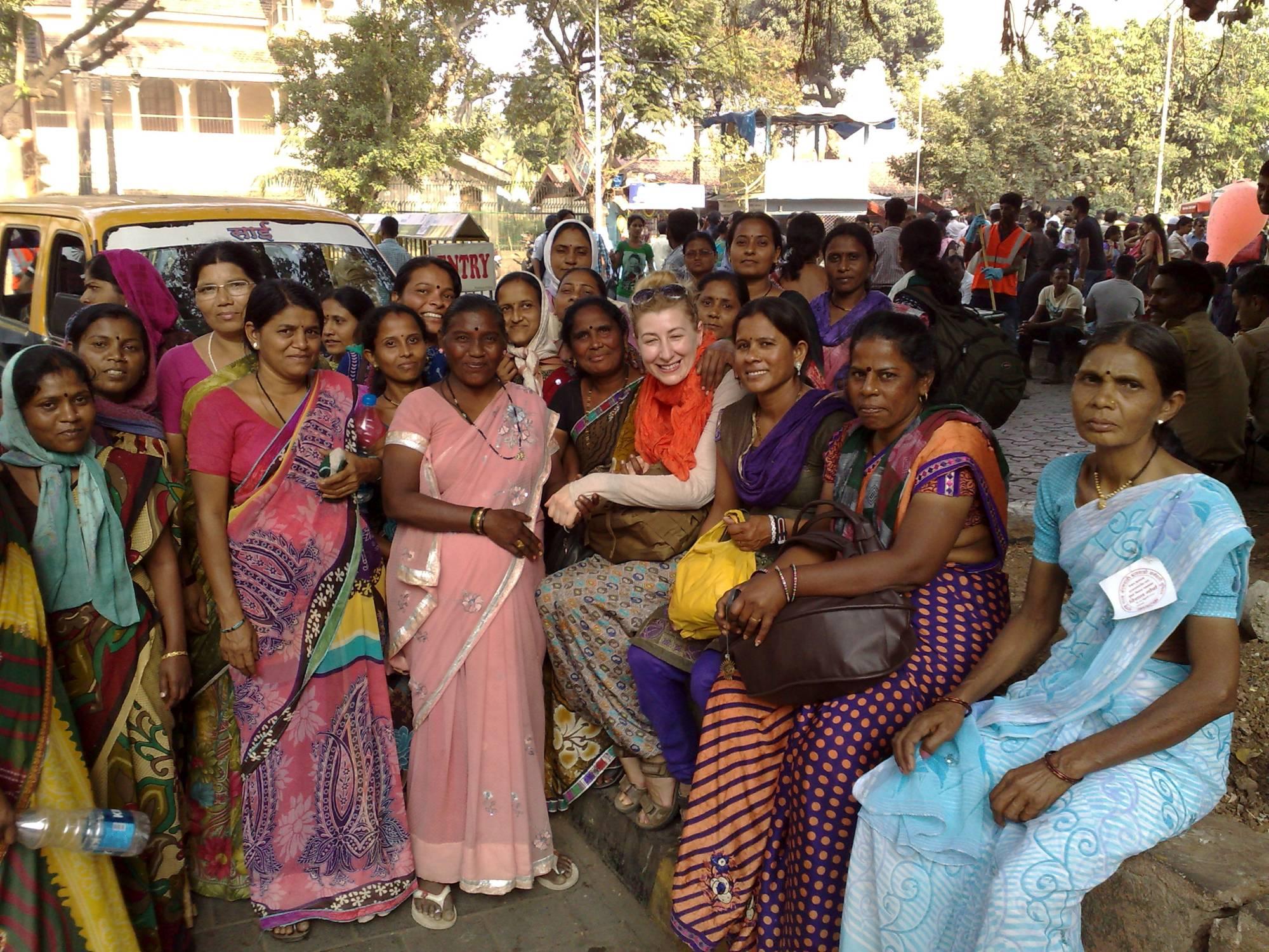 Na ulicy w Mumbaju…