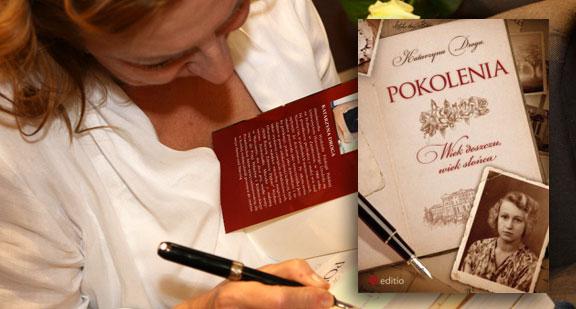 """Najpiękniejsze opowieści rodzinne: """"Pokolenia"""", Katarzyna Droga"""